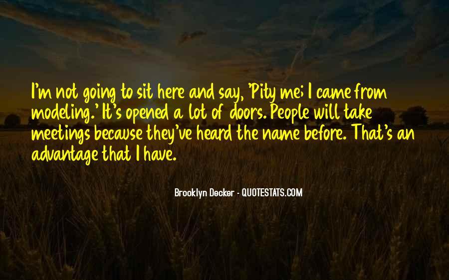 Pity's Quotes #29798