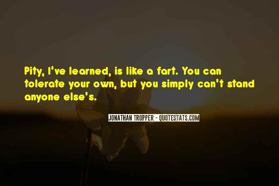 Pity's Quotes #490954