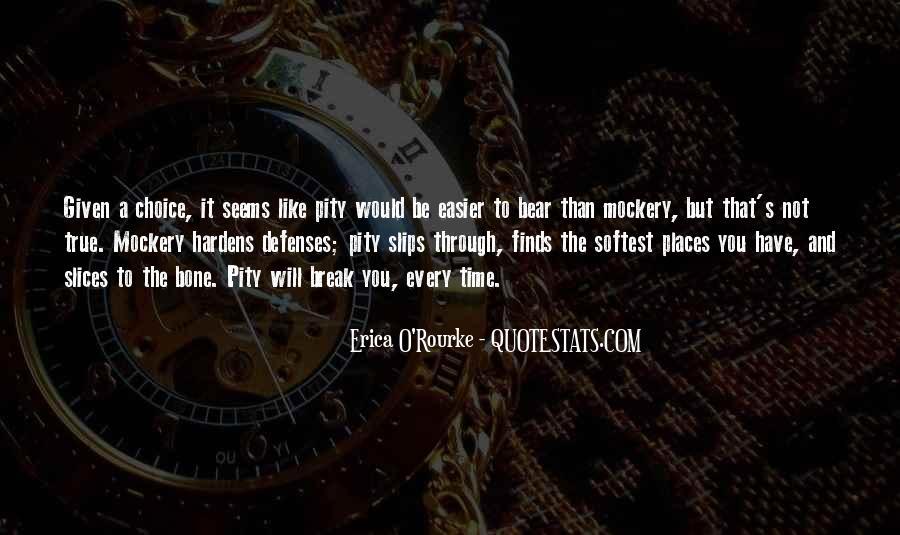 Pity's Quotes #500465