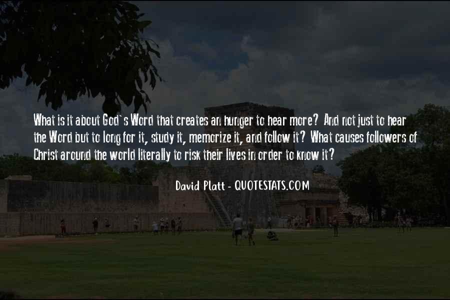 Platt's Quotes #1379706