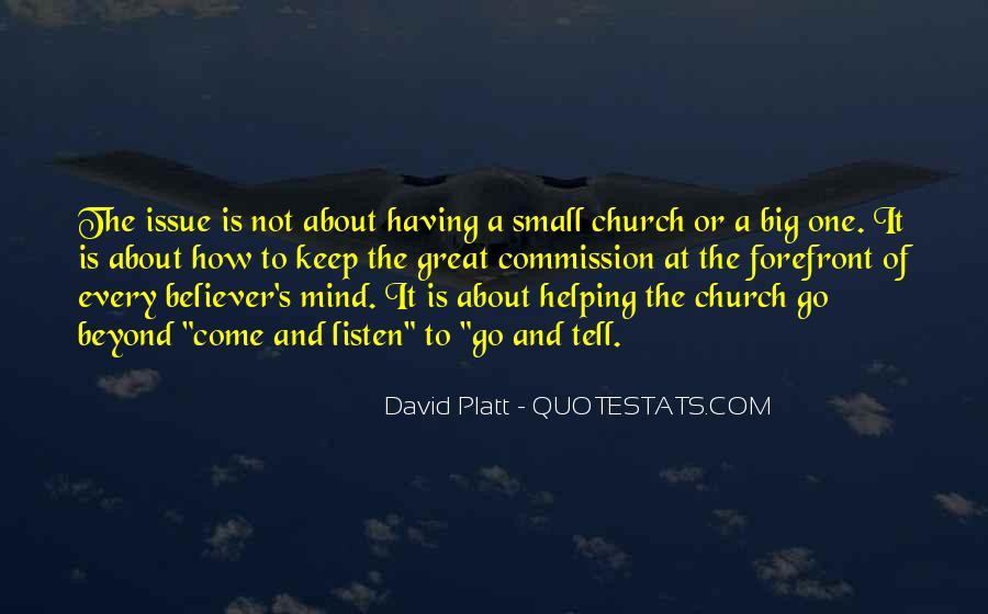 Platt's Quotes #1468031