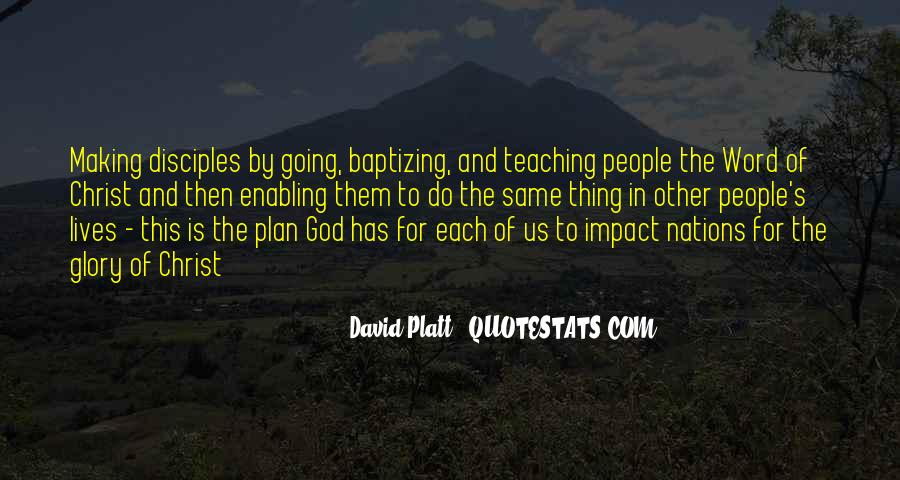 Platt's Quotes #1488791
