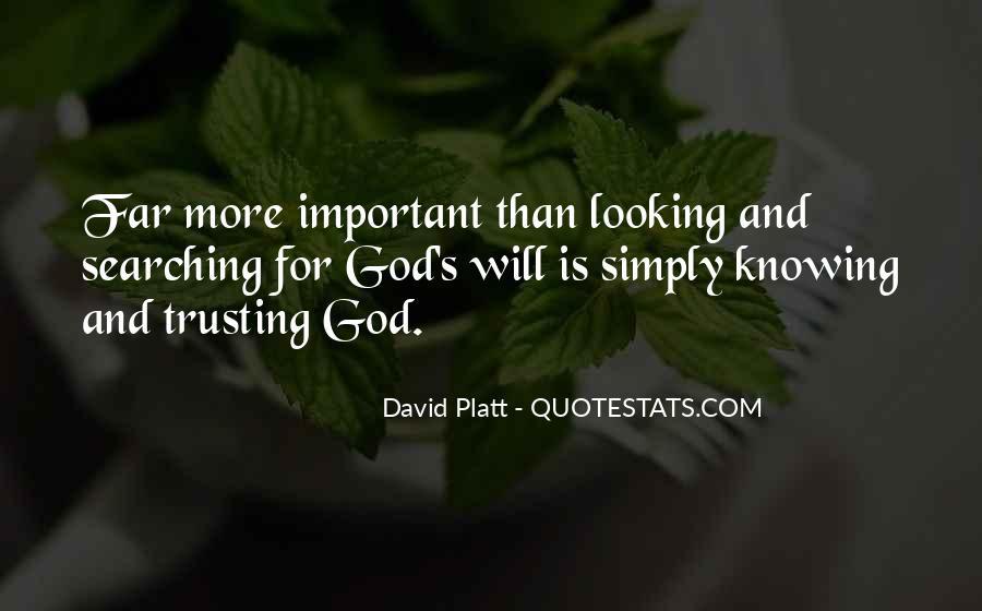 Platt's Quotes #1506216