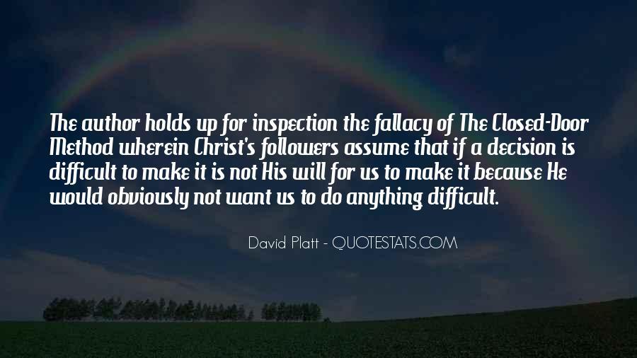 Platt's Quotes #1535760