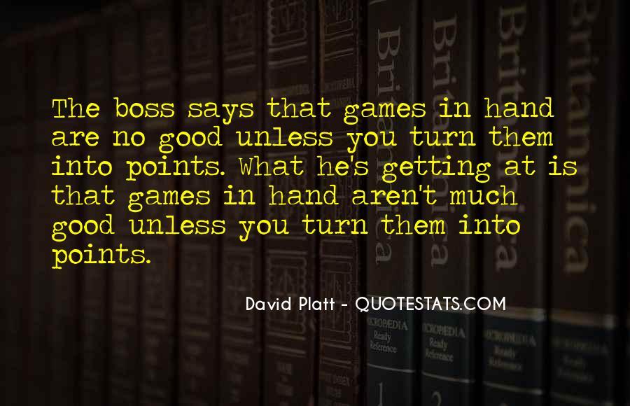 Platt's Quotes #385937