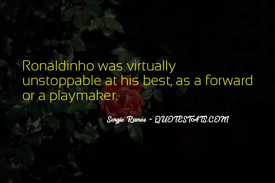 Playmaker Quotes #754085