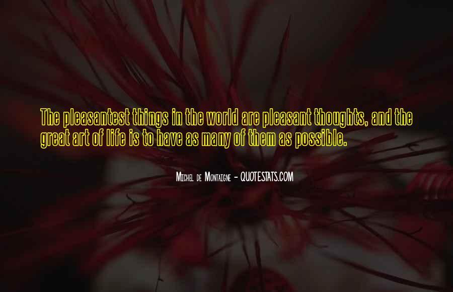 Pleasantest Quotes #1067595