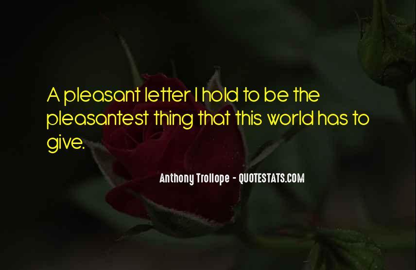 Pleasantest Quotes #1847781