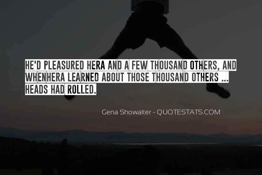 Pleasured Quotes #1780254