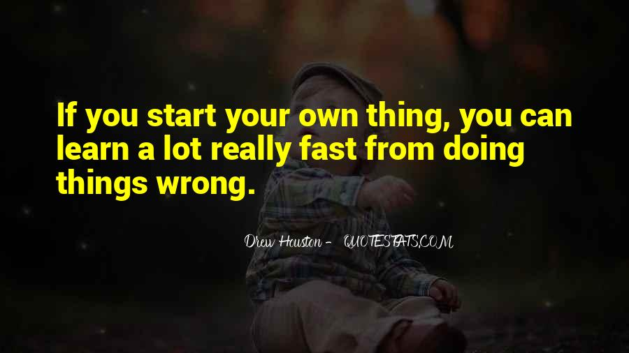 Quotes About Doing Your Thing #313416