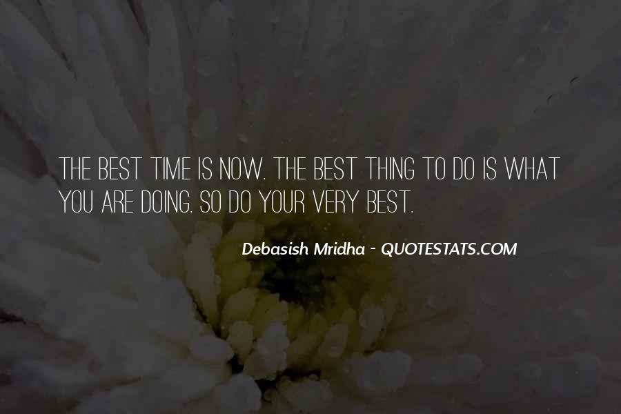 Quotes About Doing Your Thing #379515