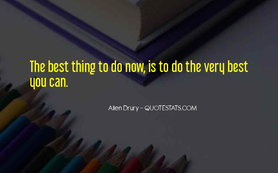 Quotes About Doing Your Thing #590592