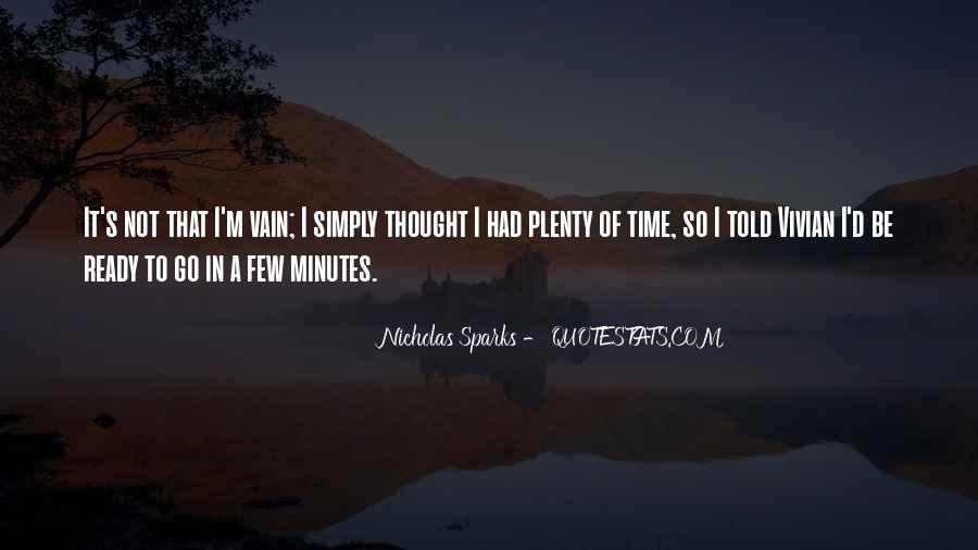 Plenty's Quotes #129708