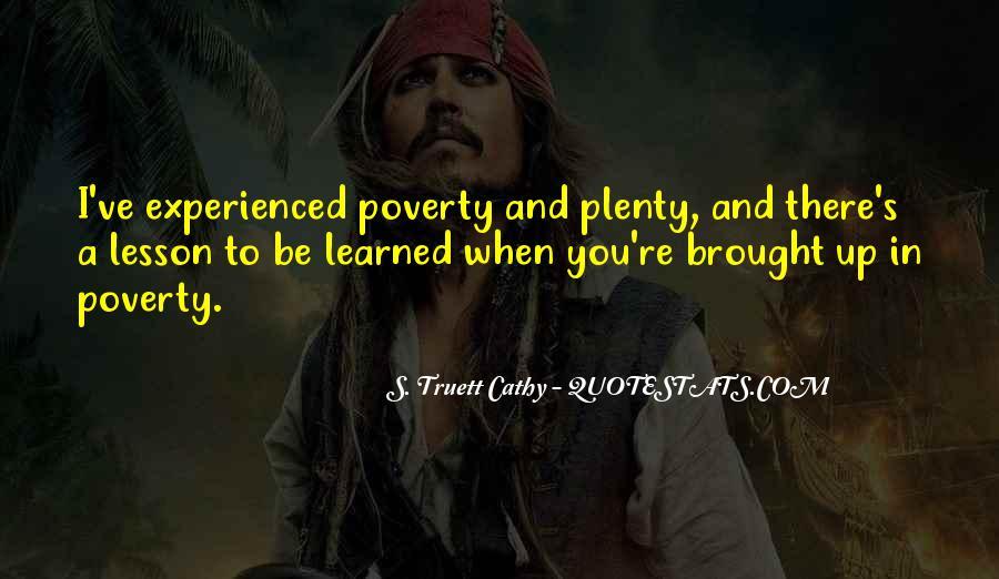 Plenty's Quotes #13039