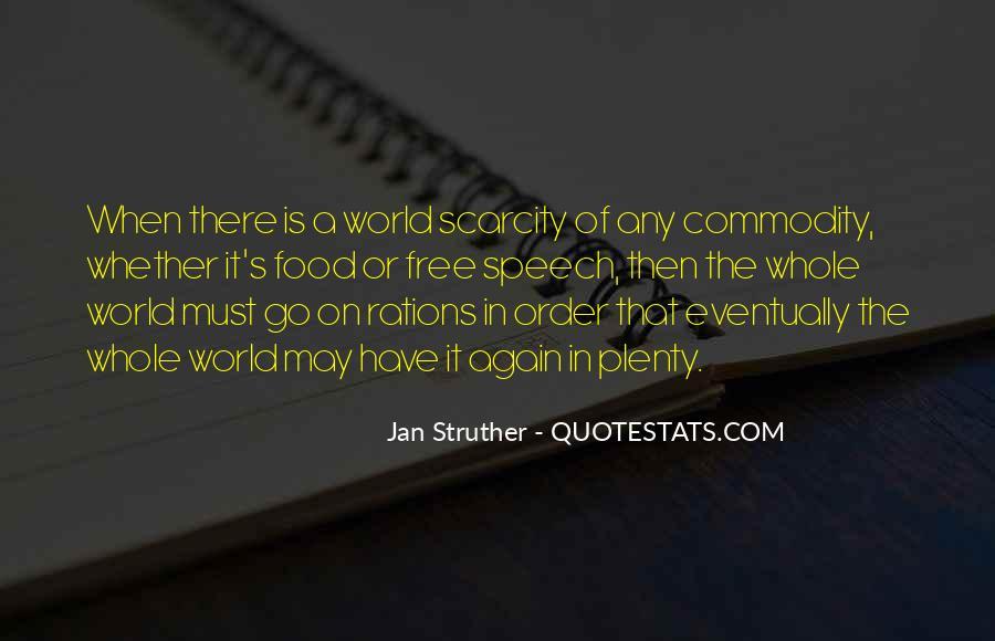 Plenty's Quotes #177085