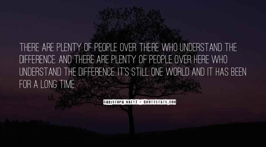 Plenty's Quotes #276904