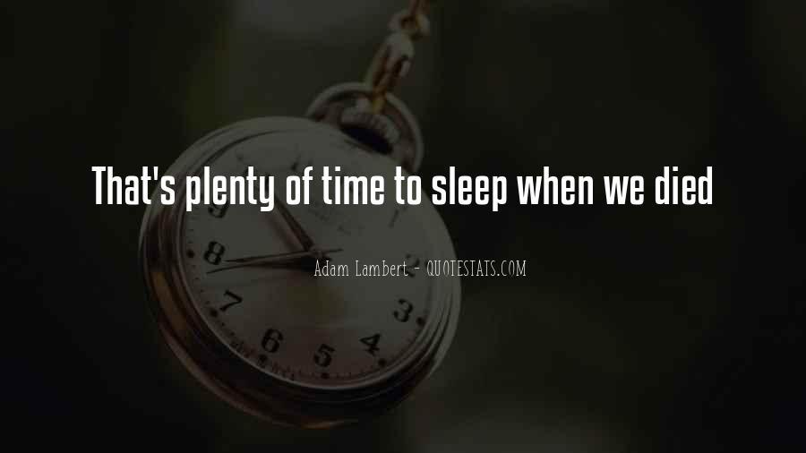Plenty's Quotes #282562