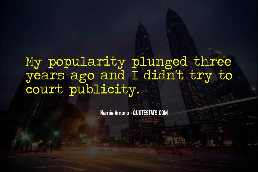 Plunged Quotes #897862