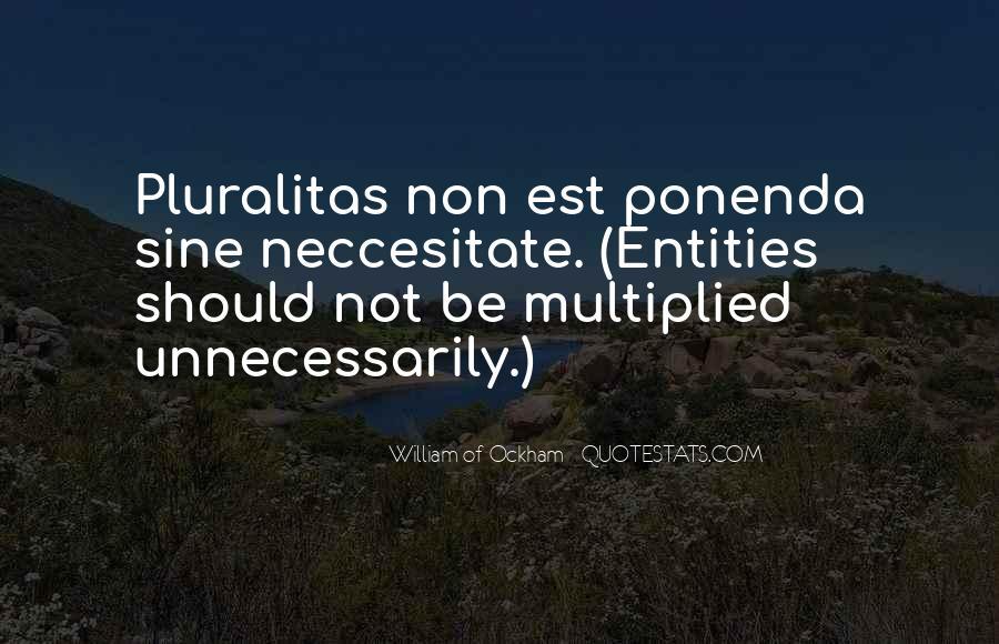 Pluralitas Quotes #586654