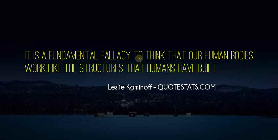 Quotes About Structures #99168