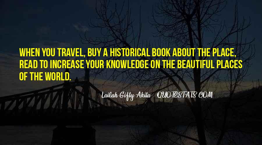 Quotes About Historical Places #1160271
