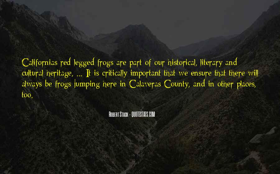 Quotes About Historical Places #1186873