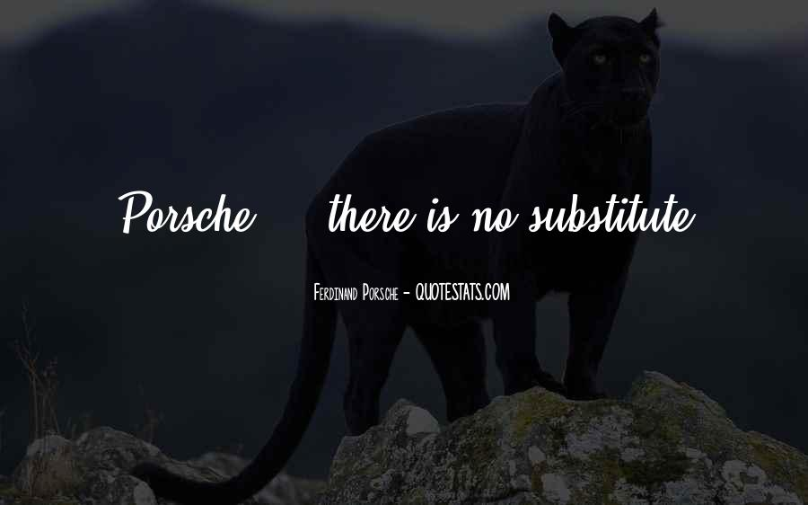 Porsche's Quotes #146696