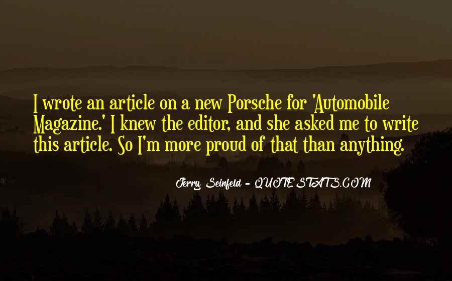Porsche's Quotes #1845179