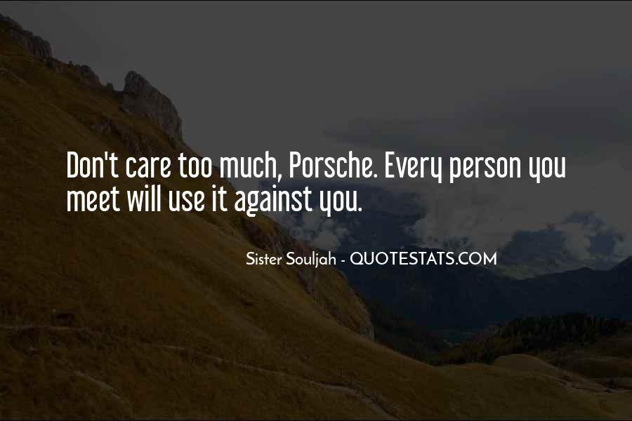 Porsche's Quotes #189758