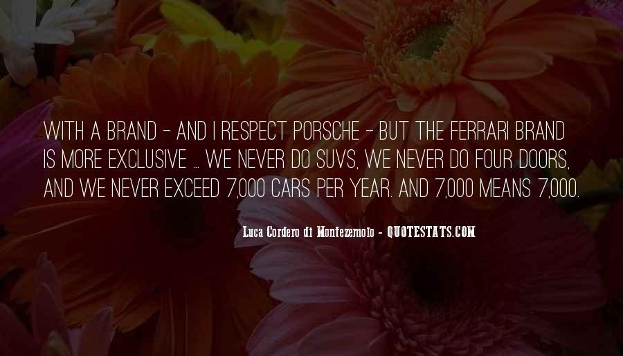 Porsche's Quotes #518702