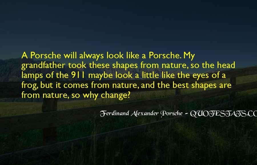 Porsche's Quotes #855593