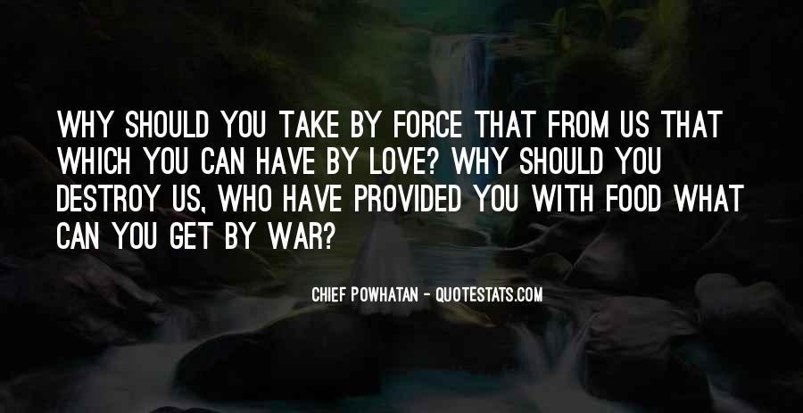 Powhatan's Quotes #1171789