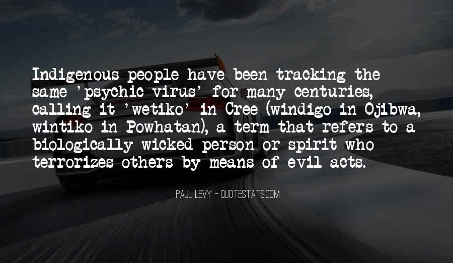 Powhatan's Quotes #1473003