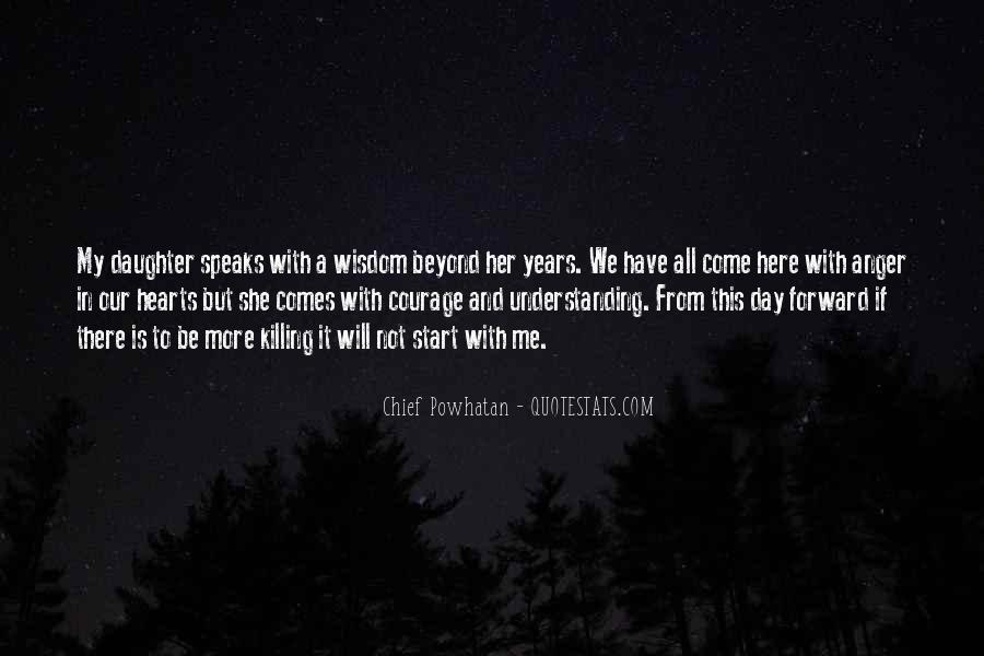 Powhatan's Quotes #573879
