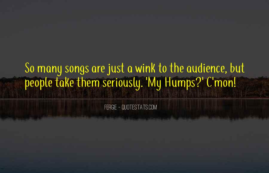 Quotes About Humps #1819009
