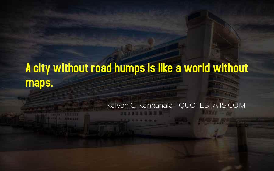 Quotes About Humps #300263