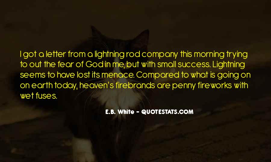 Quotes About Menace #328966