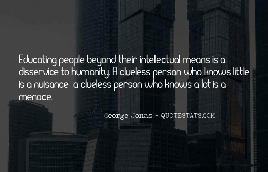 Quotes About Menace #95329