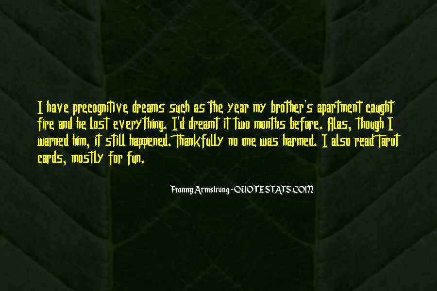 Precognitive Quotes #1240081