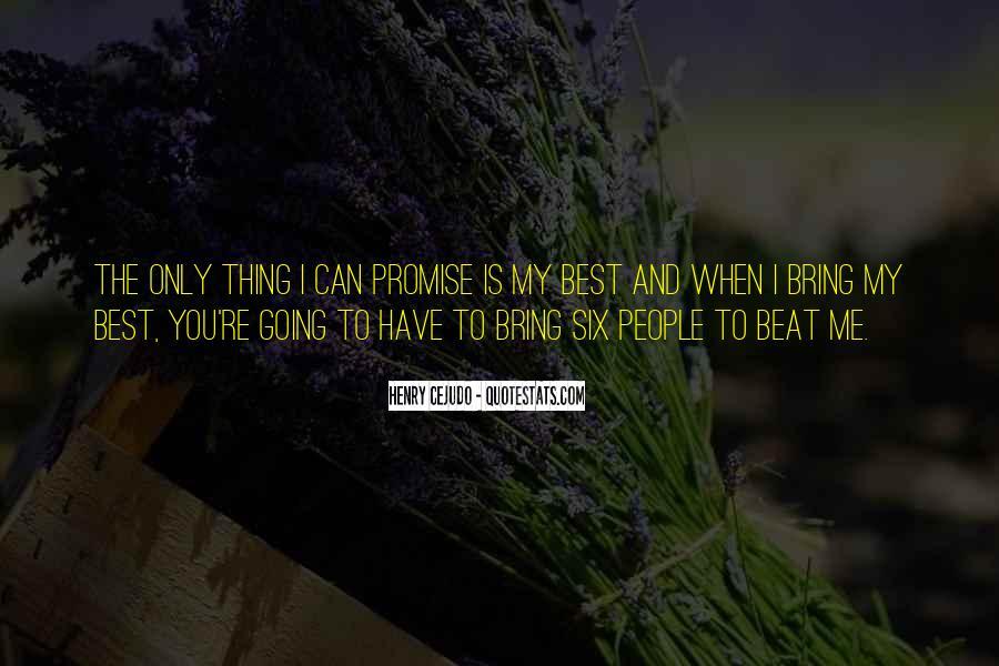 Precognitive Quotes #1245987