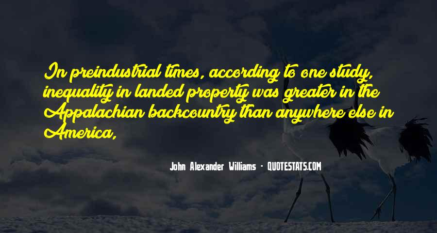 Preindustrial Quotes #305583