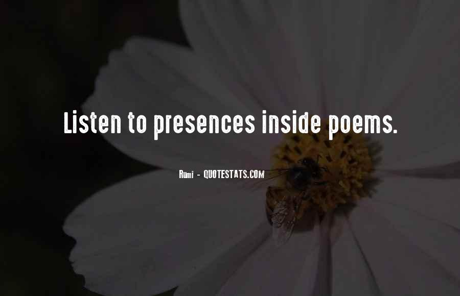 Presences Quotes #1587463