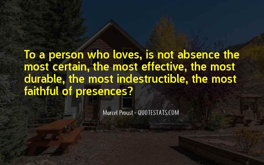 Presences Quotes #246672