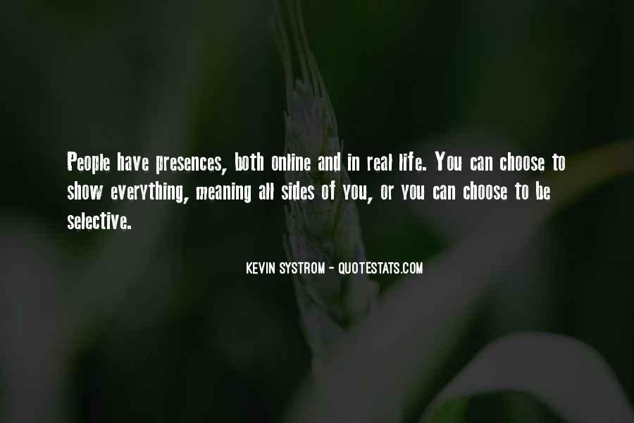 Presences Quotes #469449