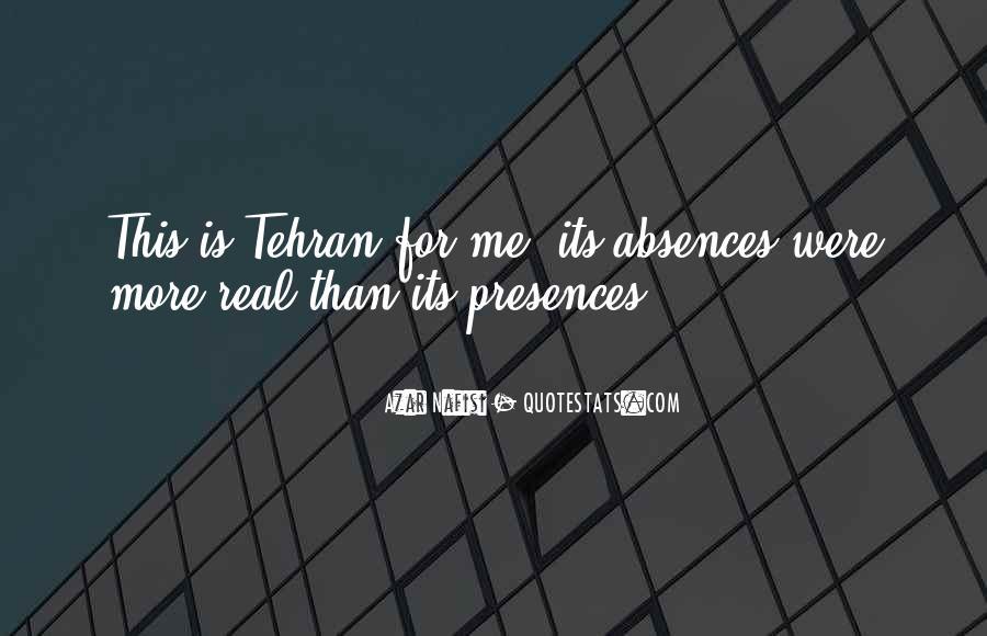 Presences Quotes #604989