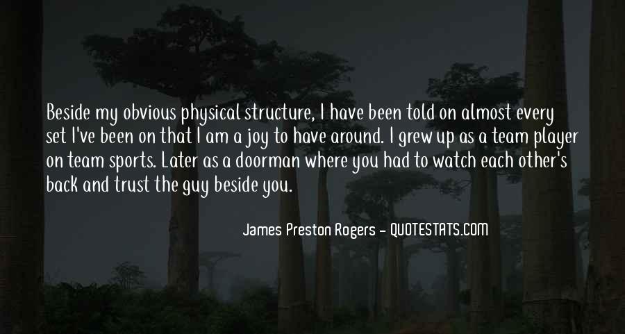 Preston's Quotes #1416501