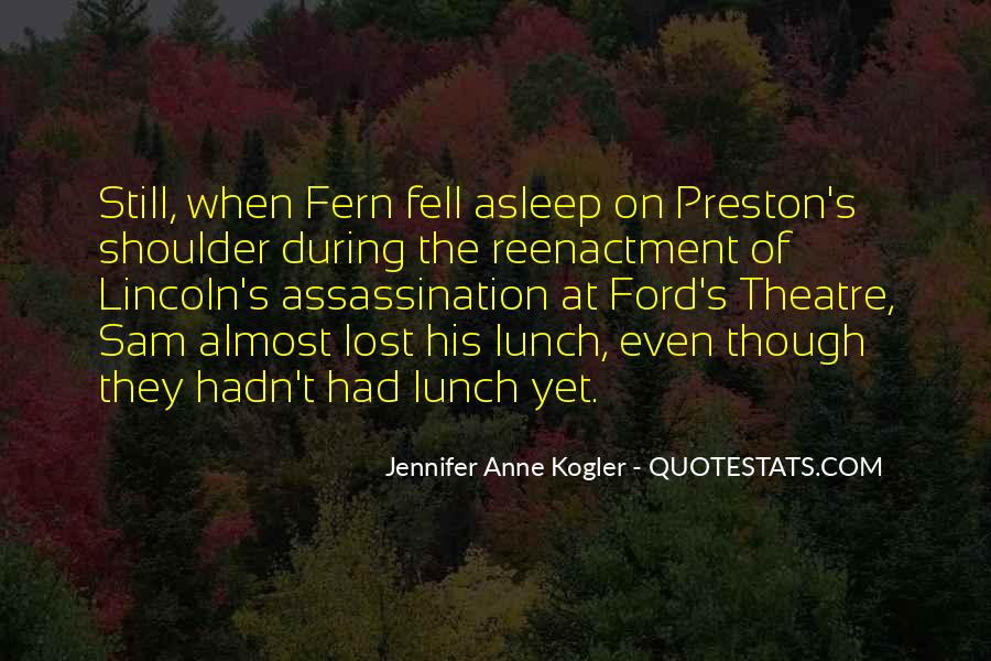 Preston's Quotes #193396