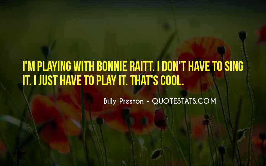 Preston's Quotes #391664