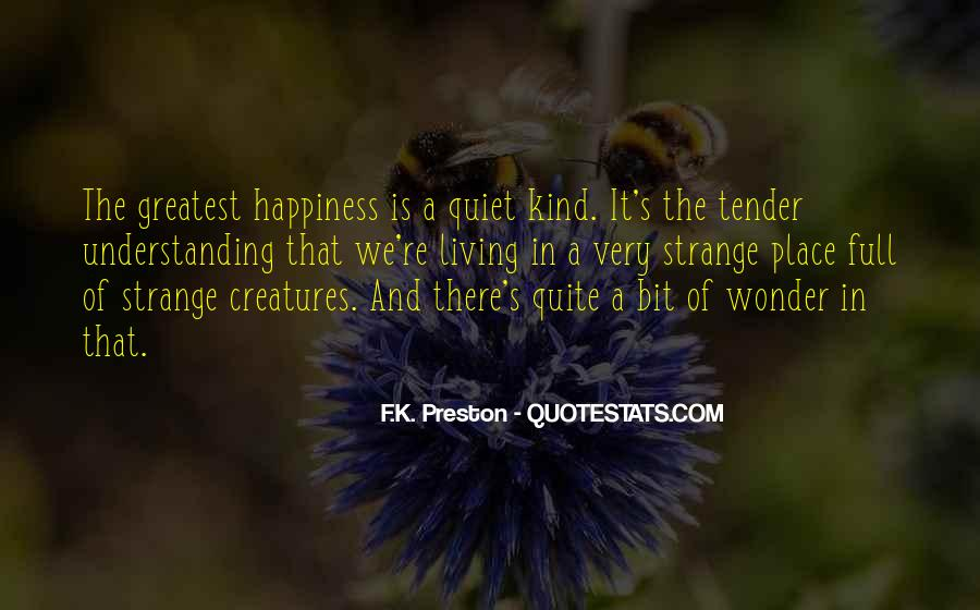 Preston's Quotes #397470