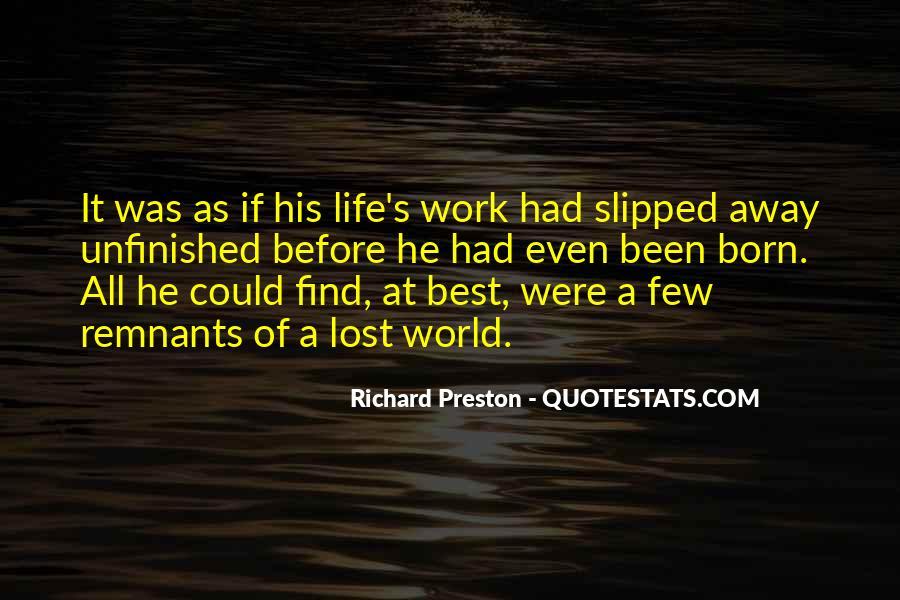 Preston's Quotes #432562